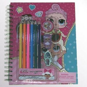 NEW LOL Surprise Sketchbook Set